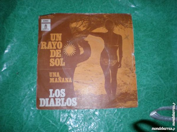 45 tours los diablos « un rayo de sol » 1 Saleilles (66)