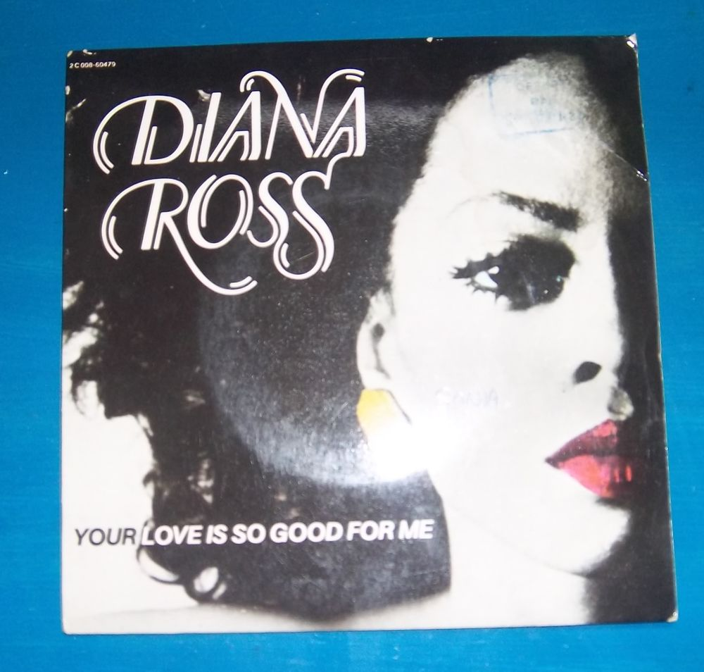 45 tours Diana Ross your love is so good for me 4 Colombier-Fontaine (25)