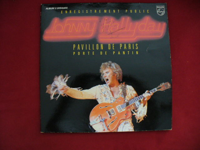 33 TOURS J H  2 DISQUES LIVE PAVILLON de PARIS  19 Decazeville (12)
