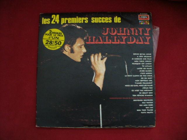 33 TOURS J H 2 DISQUES LES 24 PREMIERS SUCCÈS VOGUE CD et vinyles