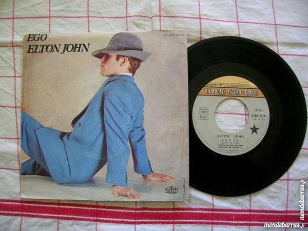 45 TOURS ELTON JOHN Ego CD et vinyles