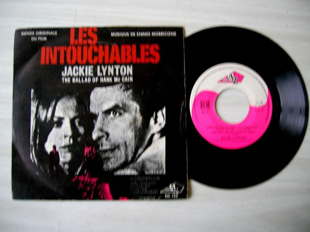 45 TOURS ENNIO MORRICONE LES INTOUCHABLES 10 Nantes (44)