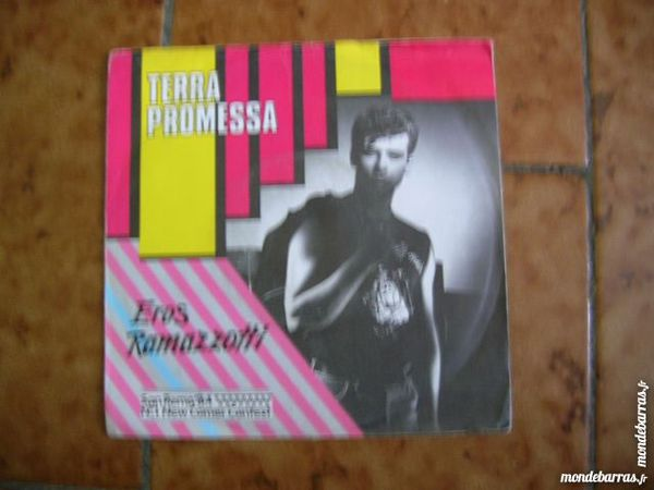 45 TOURS EROS RAMAZZOTTI Terra promessa CD et vinyles