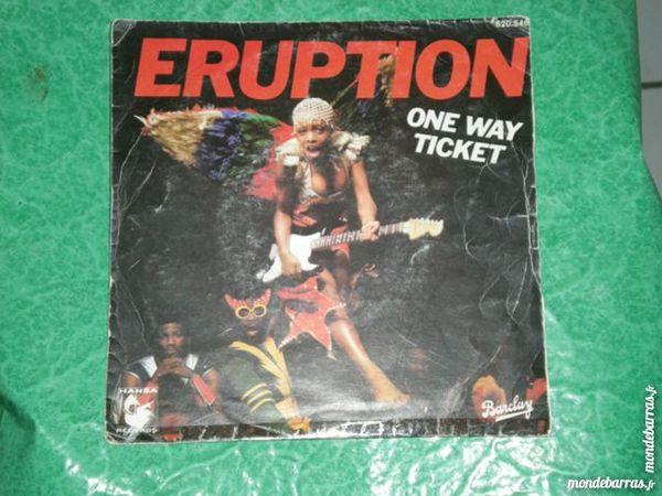 45 tours Eruption « One way ticket » 5 Saleilles (66)