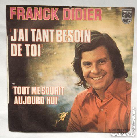 45 tours Franck Didier 1 Illkirch-Graffenstaden (67)