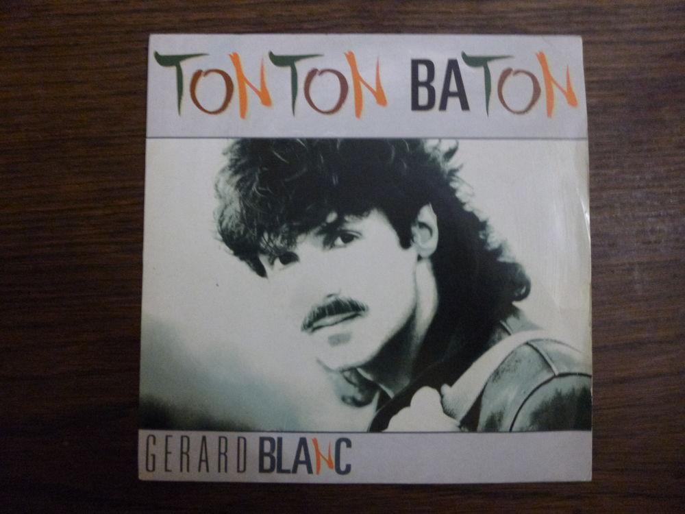 45 TOURS--GERARD BLANC--TONTON BATON--1989 10 Maxéville (54)