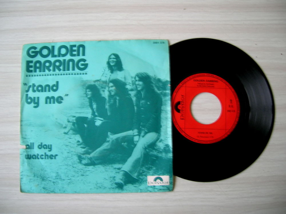 45 Tours GOLDEN EARRING Stand by me 17 Nantes (44)
