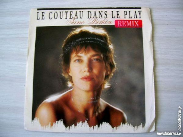 45 TOURS JANE BIRKIN Le couteau dans le play 9 Nantes (44)