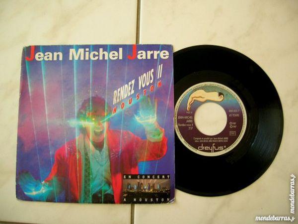 45 TOURS JM JARRE Rendez vous 2 HOUSTON CD et vinyles