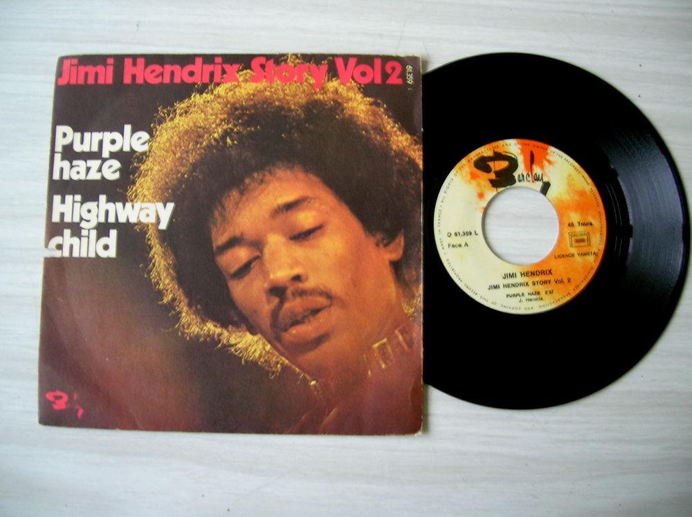 45 Tours JIMI HENDRIX Purple Haze (Story Vol.2) 16 Nantes (44)