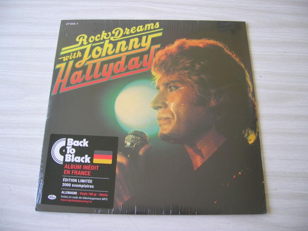 33 Tours JOHNNY HALLYDAY Rock dreams with Johnny Hallyday 39 Nantes (44)