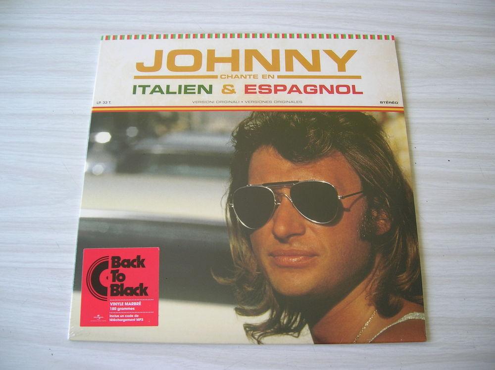 33 Tours JOHNNY HALLYDAY Chante en Italien & Espagnol 39 Nantes (44)