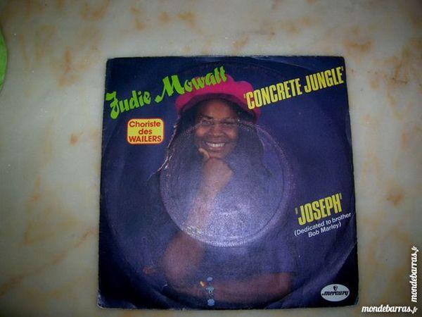 45 TOURS JUDIE MOWATT Concrete jungle - REGGAE CD et vinyles