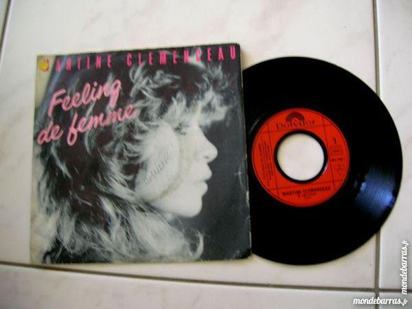 45 TOURS MARTINE CLEMENCEAU Feeling de femme CD et vinyles