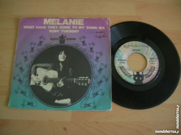 45 TOURS MELANIE What they have done to my song CD et vinyles