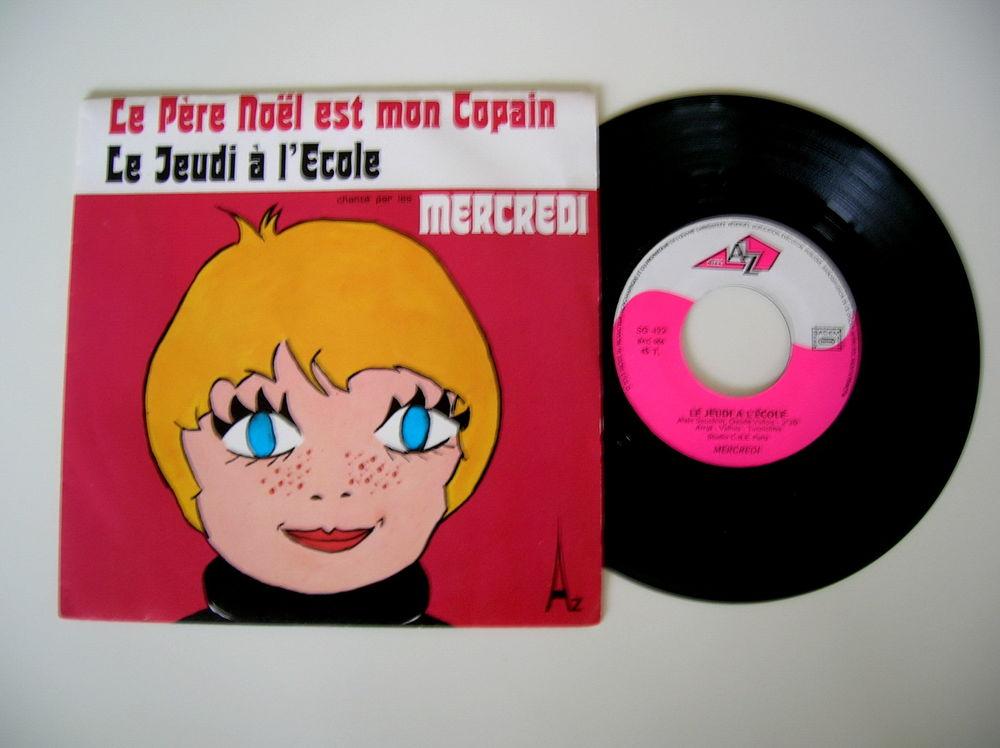 45 Tours LES MERCREDI Le père Noël est mon copain 18 Nantes (44)