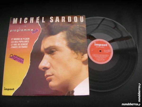 33 TOURS MICHEL SARDOU Programme Plus CD et vinyles