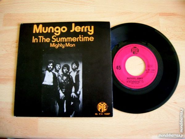 45 TOURS MUNGO JERRY In The Summertime 8 Nantes (44)