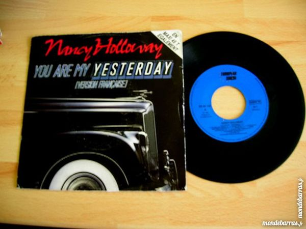 45 TOURS NANCY HOLLOWAY You are my Yesterday 6 Nantes (44)