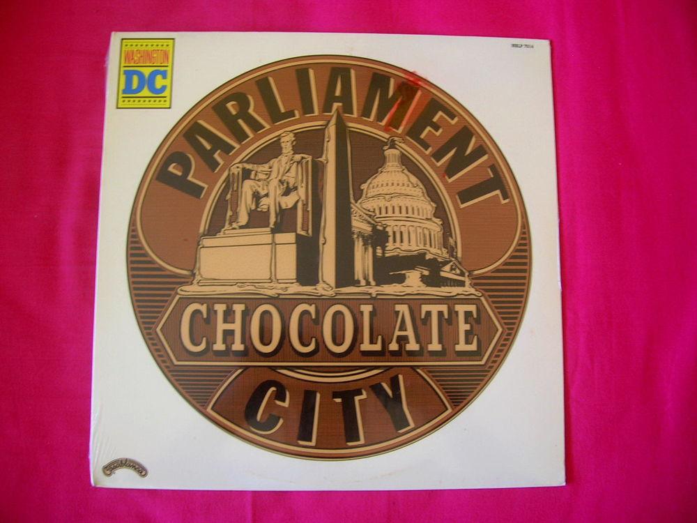 33 Tours PARLIAMENT Chocolate city (Original USA) 75 Nantes (44)