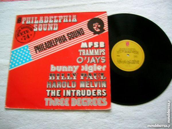 33 TOURS PHILADELPHIA SOUND Eté 74 CD et vinyles