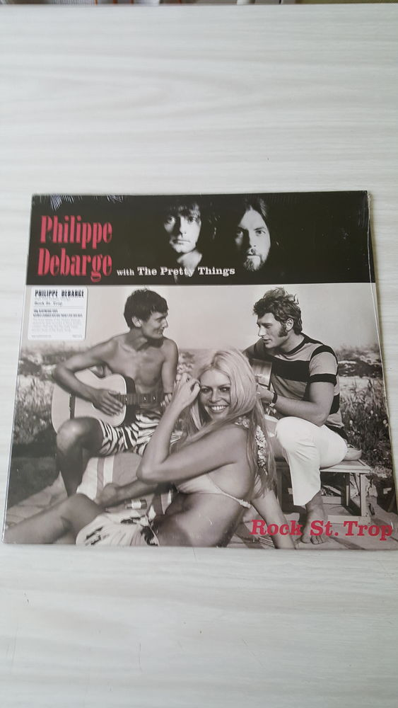 33 Tours PHILIPPE DEBARGE with THE PRETTY THINGS 45 Sautron (44)
