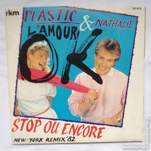 45 tours Plastic Bertrand et Nathalie CD et vinyles
