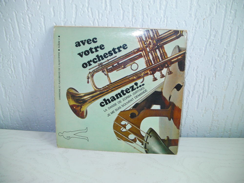 45 tours PLAY BACKS de l'ALSACIENNE 5 Saint-Etienne (42)