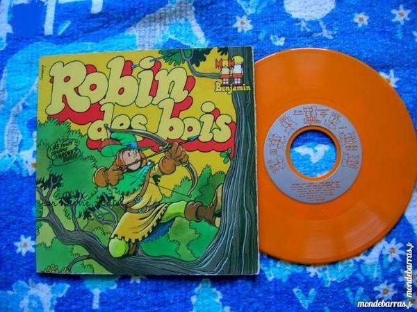 45 TOURS ROBIN DES BOIS - Enfant - Vinyle ORANGE 25 Nantes (44)