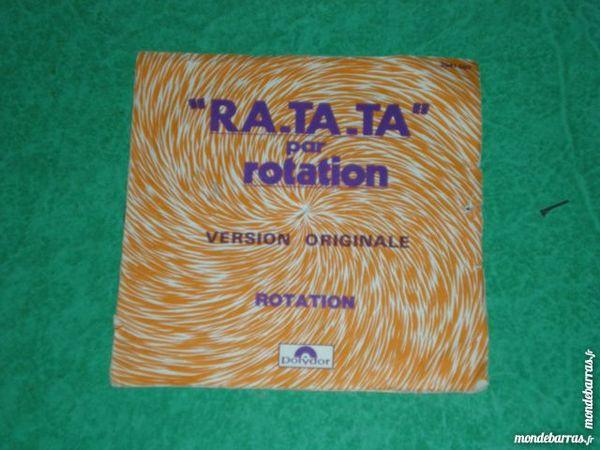 45 tours Rotation    RA-TA-TA     1 Saleilles (66)