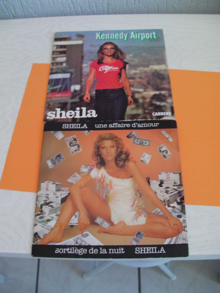 "45 tours SHEILA ""KENNEDY AIRPORT"" ... CD et vinyles"
