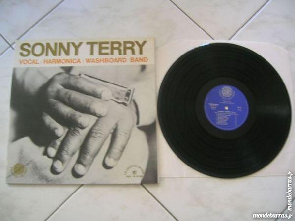 33 TOURS SONNY TERRY Vocal/Harmonica/Washboard bd CD et vinyles