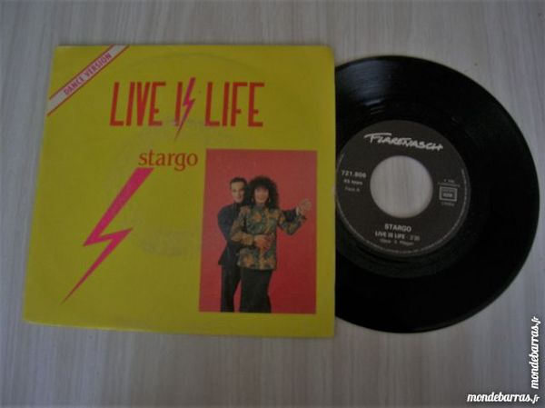 45 TOURS STARGO Life is life 5 Nantes (44)