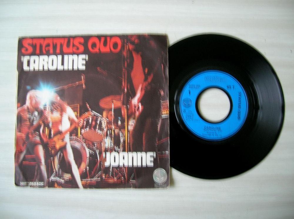 45 Tours STATUS QUO Caroline 27 Nantes (44)