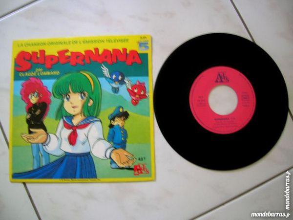 45 TOURS SUPERNANA Chanson du dessin animé LA CINQ CD et vinyles