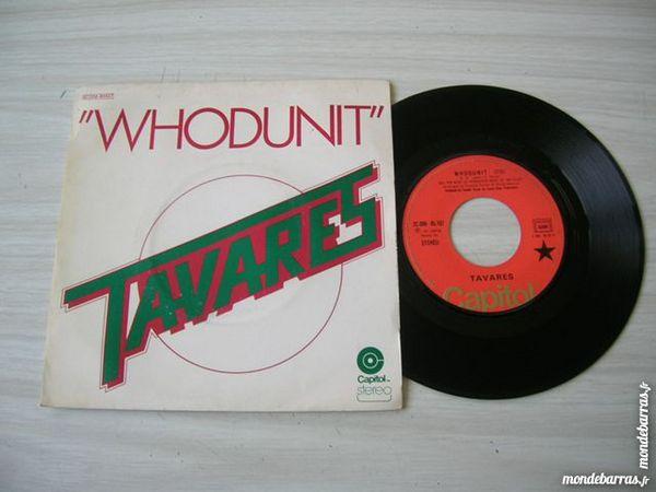 45 TOURS TAVARES Whodunit CD et vinyles