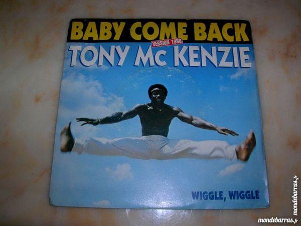 45 TOURS TONY MC KENZIE Baby come back 10 Nantes (44)