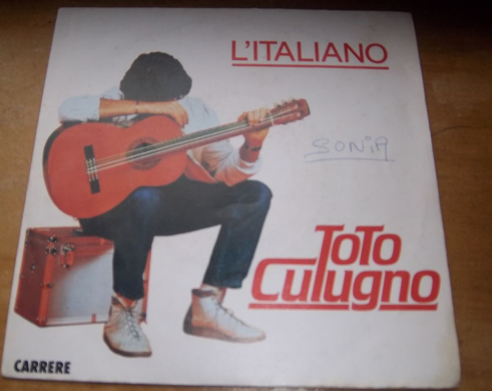 45 tours Toto Cutugno l'italiano 1983 2 Colombier-Fontaine (25)