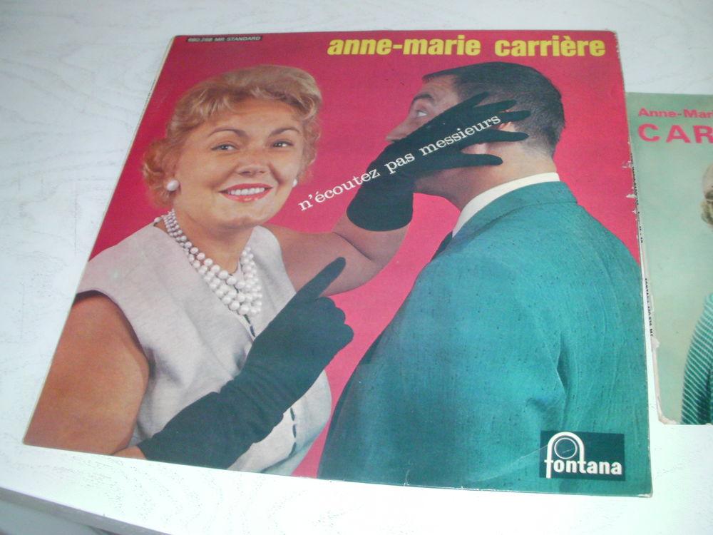33 tours et 45 tours Anne-Marie CARRIERE 20 Saint-Etienne (42)