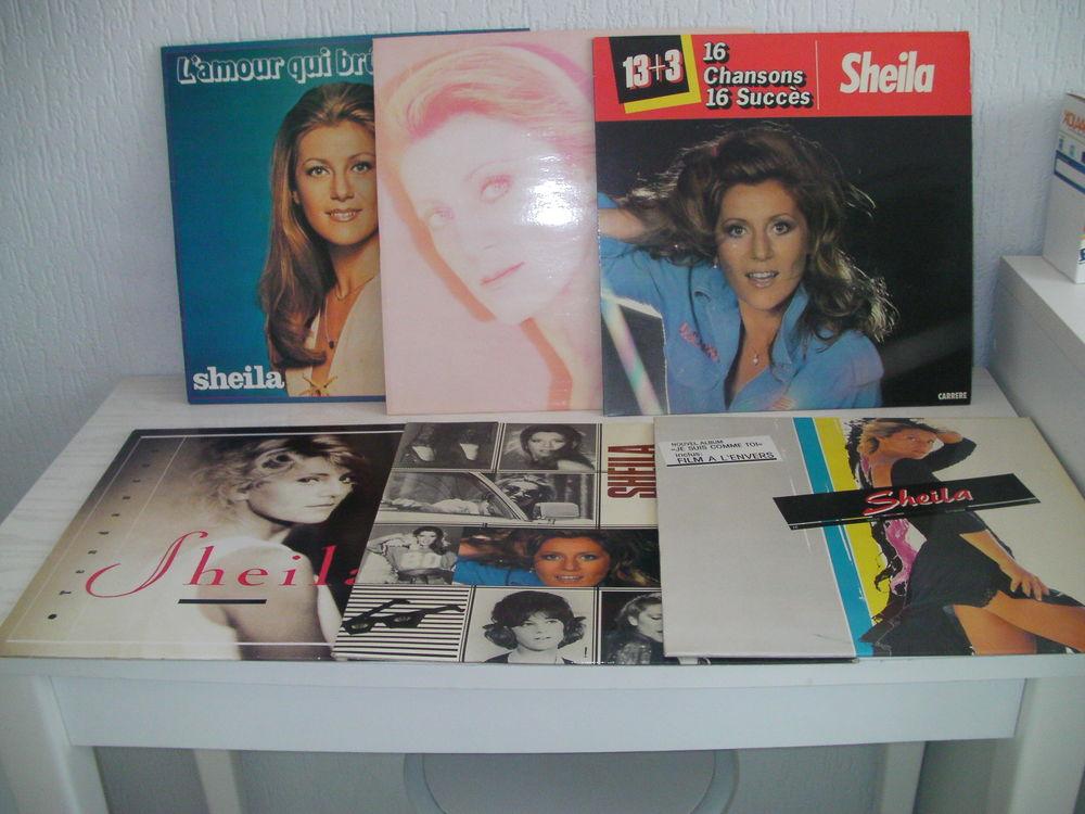 45 tours et 33 tours vinyle SHEILA 12 Saint-Etienne (42)