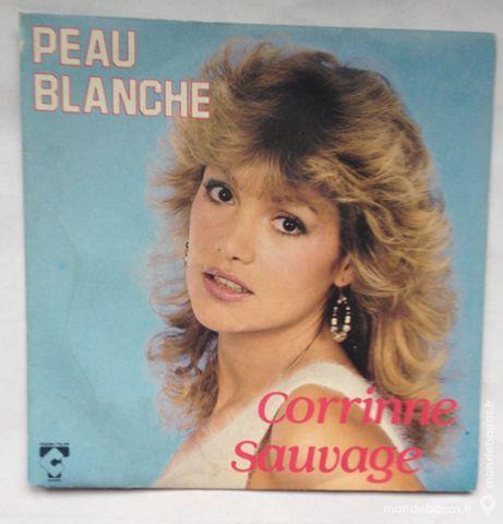 45 tours vinyle Corrinne Sauvage CD et vinyles