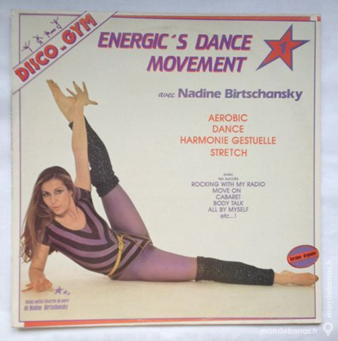 33 tours vinyle Energic's dance movement 2 Illkirch-Graffenstaden (67)