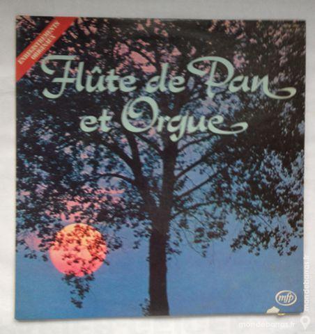 33 tours vinyle flûte de pan et orgue 2 Illkirch-Graffenstaden (67)