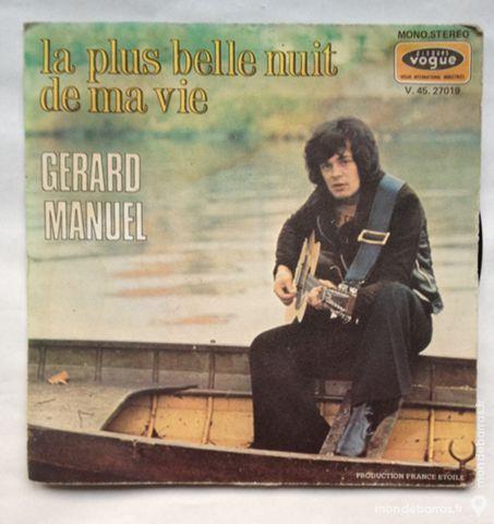 45 tours vinyle Gérard manuel 1 Illkirch-Graffenstaden (67)