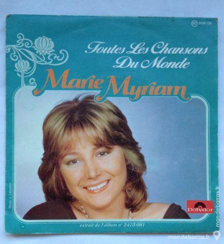45 tours vinyle Marie Myriam 1 Illkirch-Graffenstaden (67)