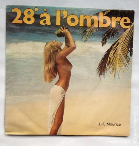 45 tours vinyle J-F Maurice 1 Illkirch-Graffenstaden (67)