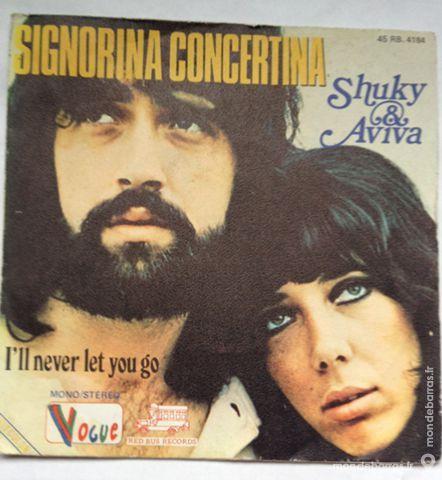 45 tours vinyle Shuky et Aviva 1 Illkirch-Graffenstaden (67)