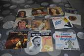 Lot de 45 tours vinyles avec  Jean Patrick Capdevielle   10 Perreuil (71)