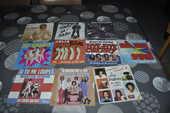 Lot de 45 tours vinyles avec entre autre  Martin Circus  10 Perreuil (71)
