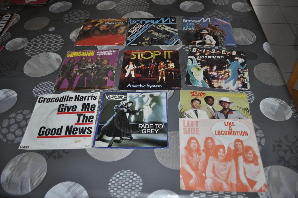 Lot de 45 tours vinyles  Boney M  10 Perreuil (71)